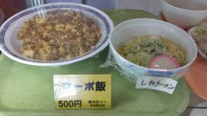 稲永麻婆飯塩ラーメン