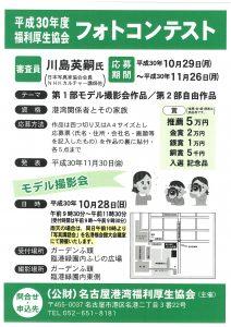 平成30年度フォトコンテストポスター